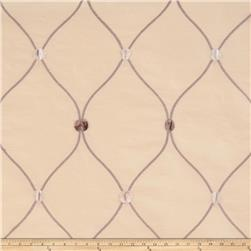 Fabricut Rockaway Lattice Taffeta Natural