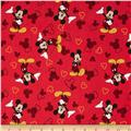 Disney Mickey Mouse & Silhouette Red