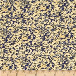 American Spirit Rose Toile Navy