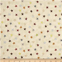 Sophie Tossed Stars Cream/Multi