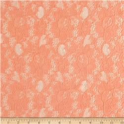 Foral Lace Peach