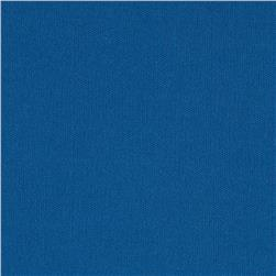 Single Knit Solid Ocean Blue Fabric