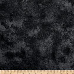 Folk Art Flannels Hand Dyed Background Black