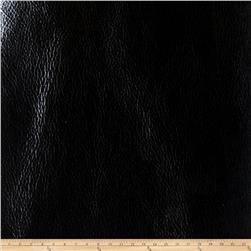 Fabricut Crackled Metal Faux Leather Onyx