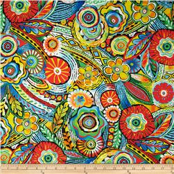 Samba Moroccan Tile Bright Multi