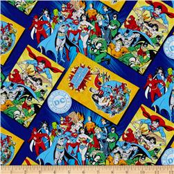 DC Comics Comic Book Covers Blue