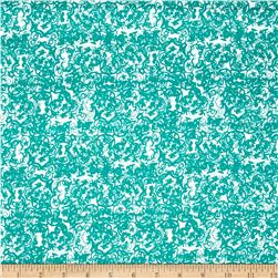 Altiora Abstract Floral Turquoise