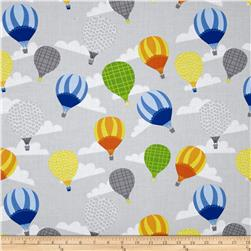 Big City Friends Hot Air Balloons Gray/Gray