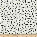 Cotton + Steel Snap To Grid Big Pill Dot Black/Ivory