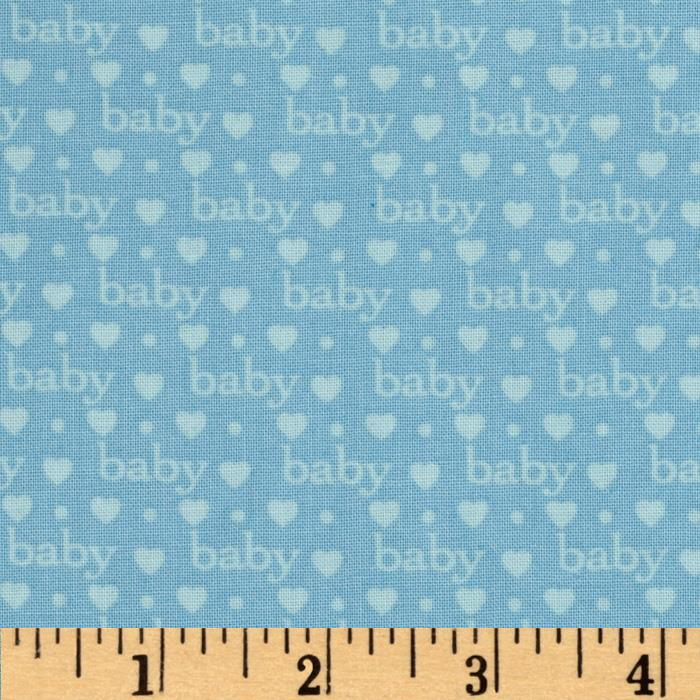 Bundle of Joy Baby Love Baby Blue