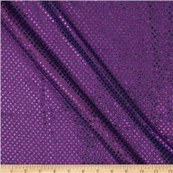 Sequin Dot Mesh Purple