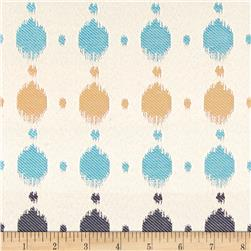 Claridge Dots Jacquard Monocco Blue