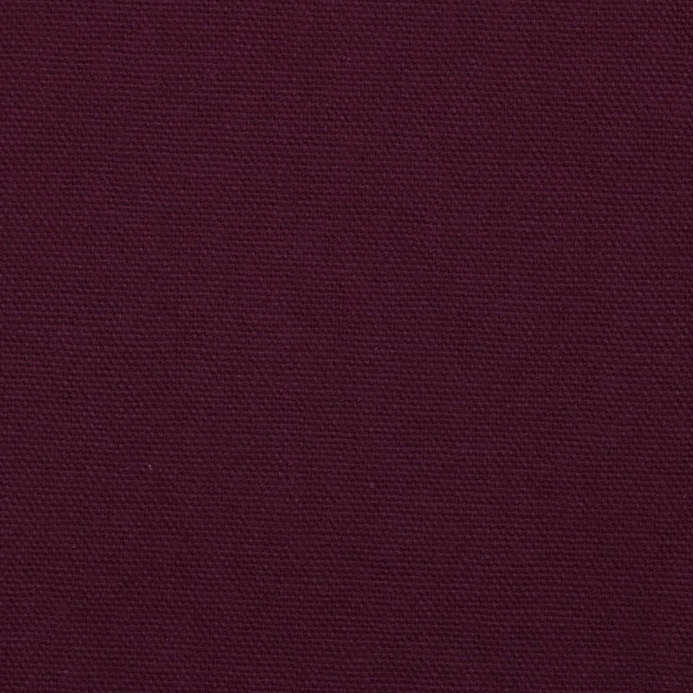 9 oz. Organic Cotton Duck Plum Fabric by Carr in USA