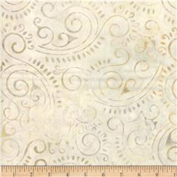 Wilmington Batiks Scroll Light Tan