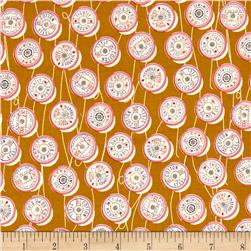 Cotton + Steel Trinket Spools Yellow