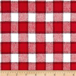 Marcus Primo Plaids Color Crush Flannel Small Block Red