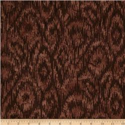 Bali Batik Handpaints Ikat Brown