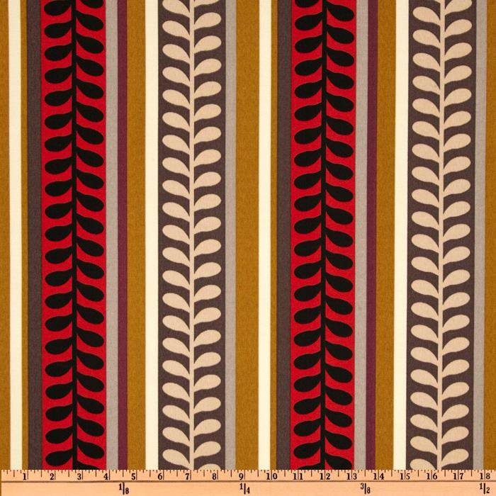 Richloom Solarium Outdoor Pike Stripe Calypso
