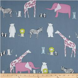 Zaza Zoo Animals Blue