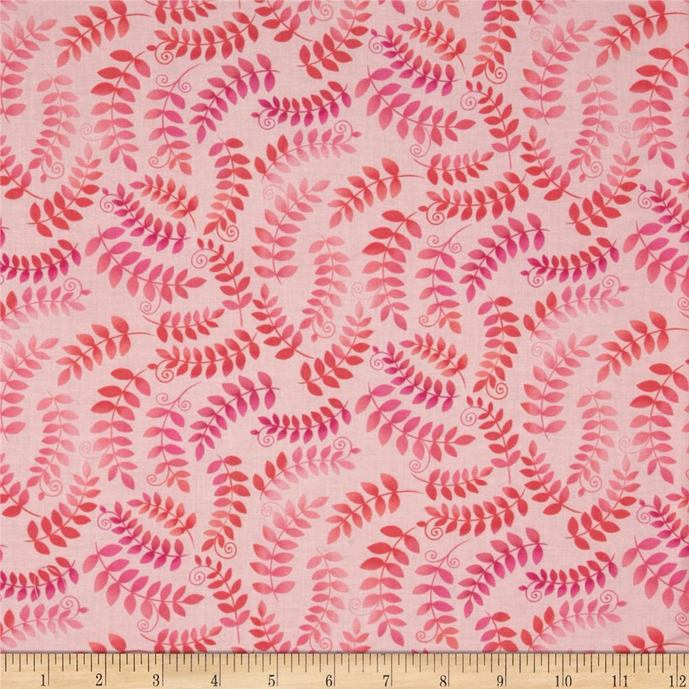 Fairies Of The Earth Ferns Pink