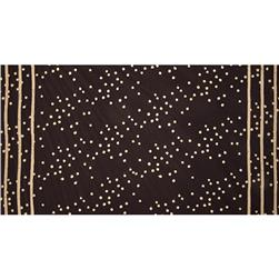 Alison Glass Handcrafted 2 Batik Double Border Stripe Dot Dark Gray