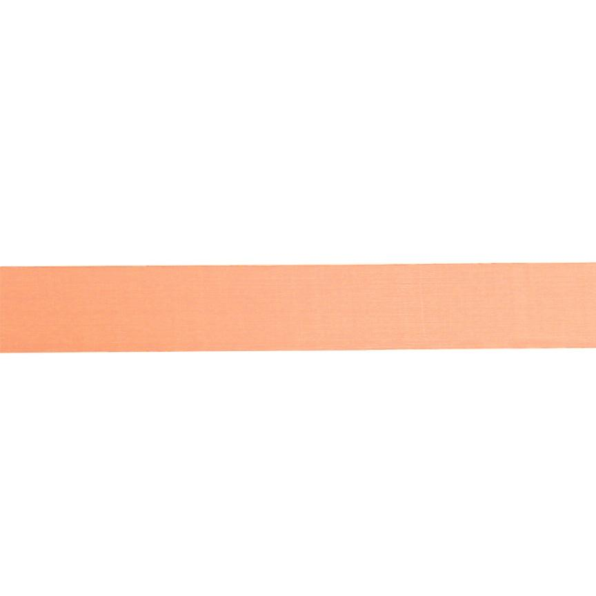 1'' Sheer Organza Ribbon Orange
