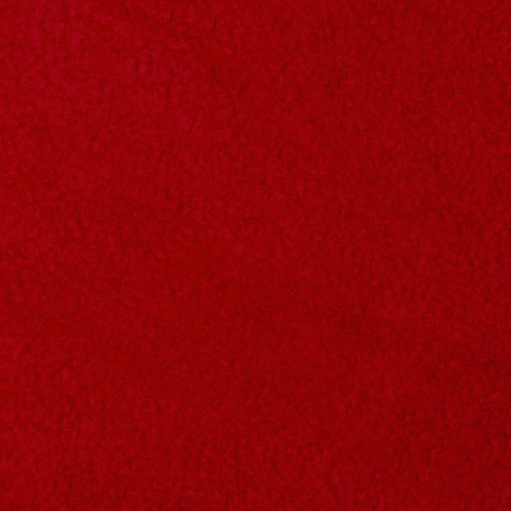 Wintry Fleece Deep Red