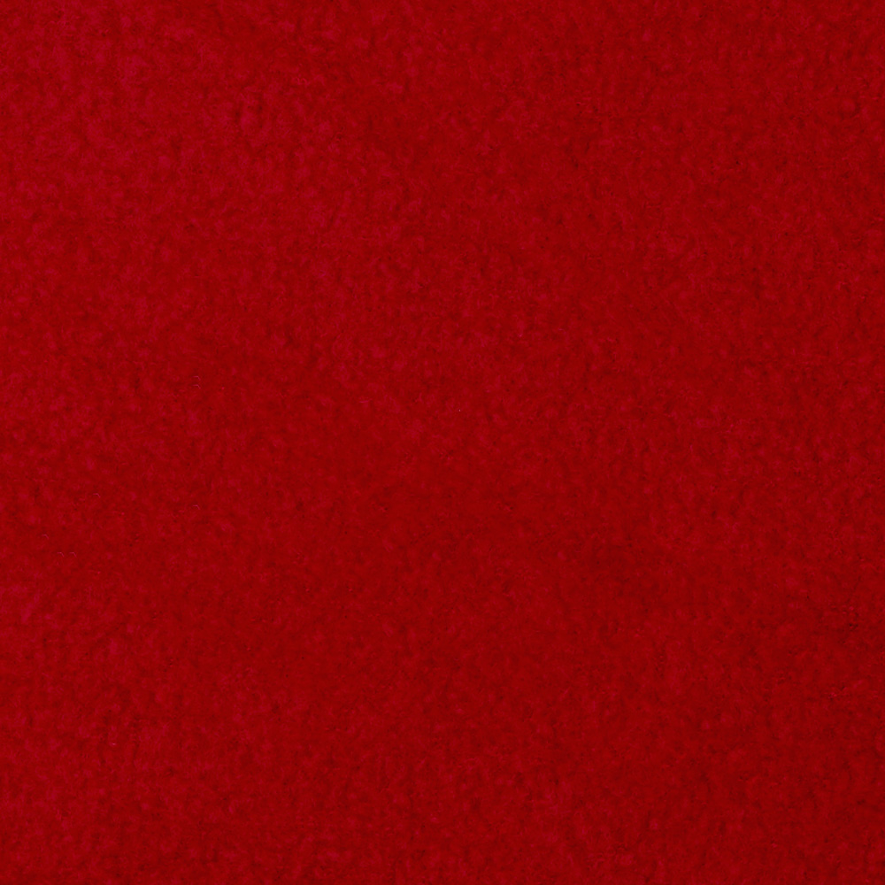Wintry Fleece Deep Red Fabric