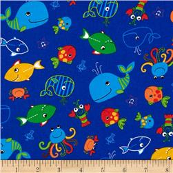 Oceans Of Fun Fish Blue