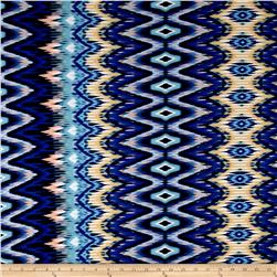 Maggy London ITY Knit Hazy Ikat Indigo/Multi