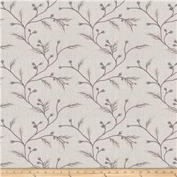 Keller Embroidered Linen Galena Dawn