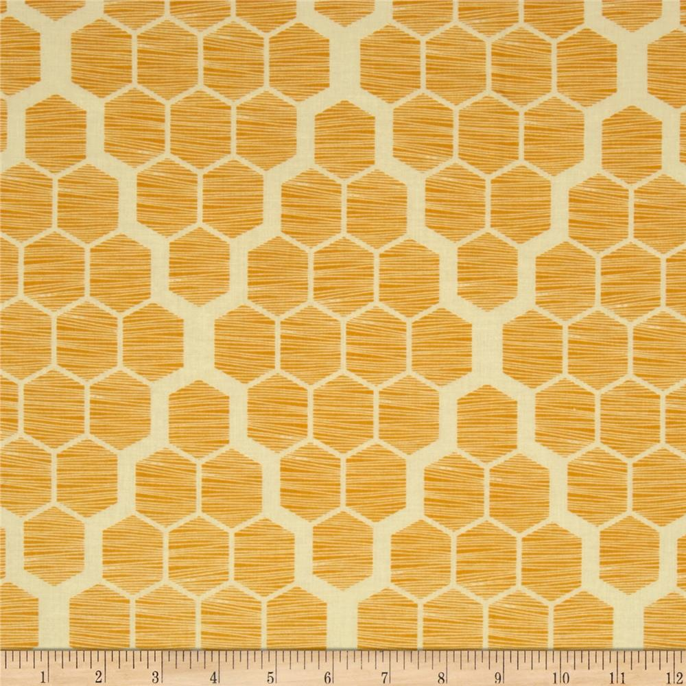 Joel Dewberry Bungalow Hive Maize
