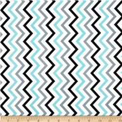 Michael Miller Mini Chic Chevron Boy Fabric