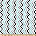 Michael Miller Mini Chic Chevron Boy