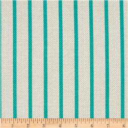 Michael Miller Textured Basics Stripe Teal