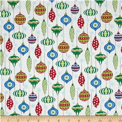 Moda Ho! Ho! Ho! Happy Hanging Bulbs Snow White