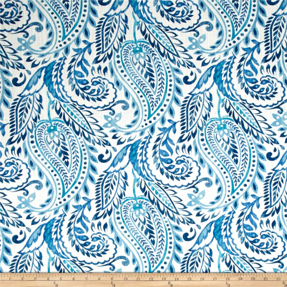 Richloom Alguna Denim Fabric By The Yard