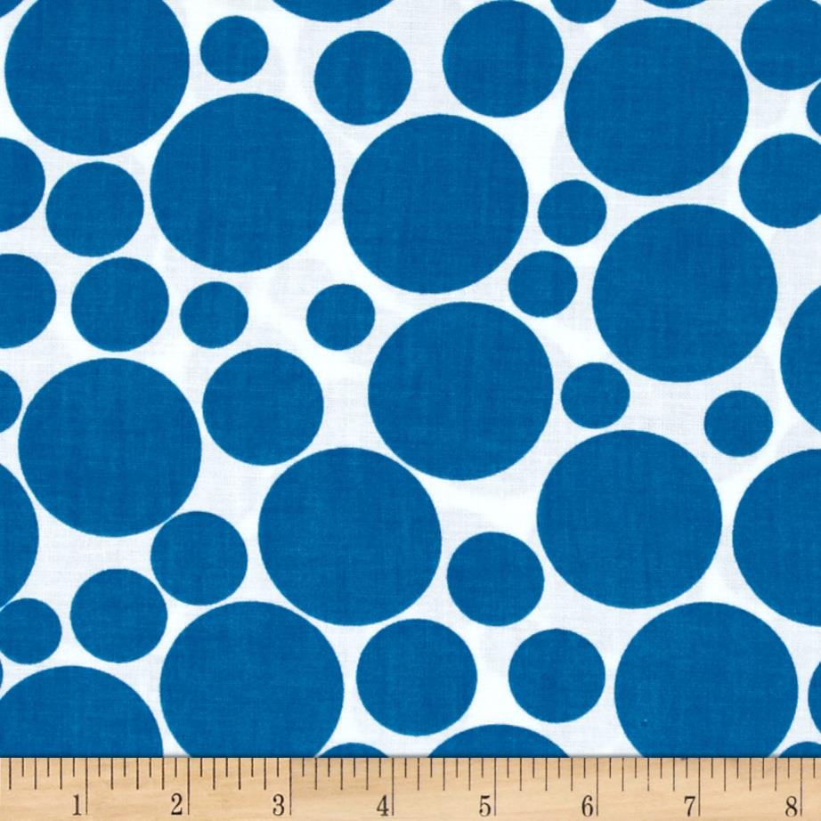 .COM Multi Size Dots White/Blue