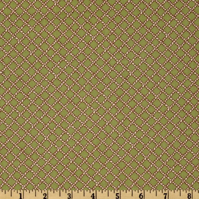 Roundup Diagonal Rope Green