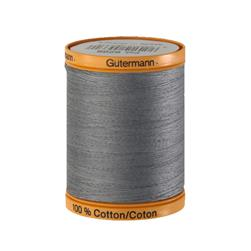 Gutermann Natural Cotton Thread 800m/875yds Grey