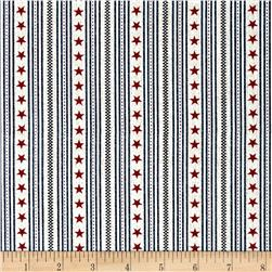 Oh My Stars American Classic Ticking Stripe Blue