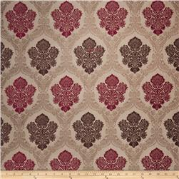 Fabricut Salerno Chenille Ruby Brown