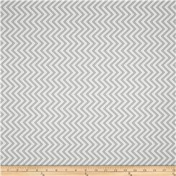Moda Bump To Baby Chevron Silver