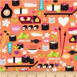 Kanvas Little Harajuku Little Sushi Orange