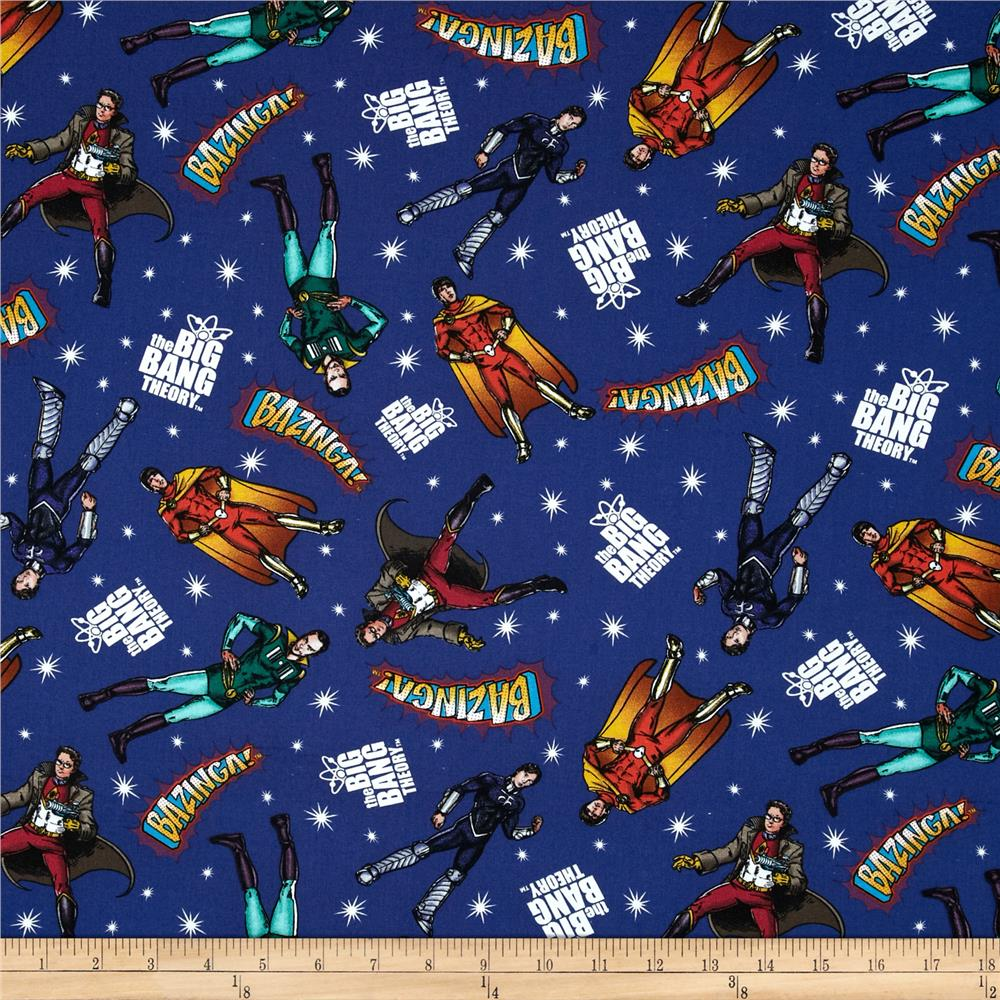 The Big Bang Theory Heroes in Space Navy/Multi