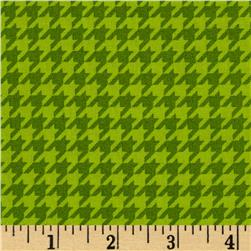 Mind Your Mummy Houndstooth Green