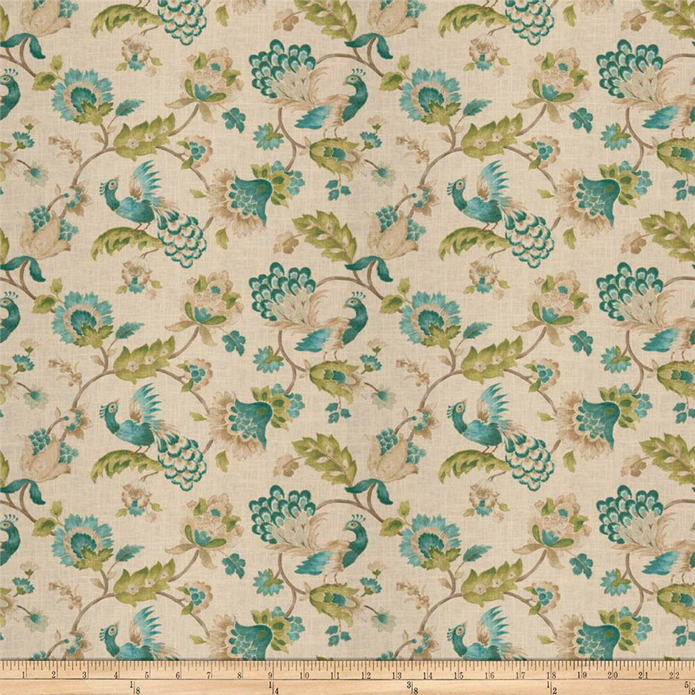 Jaclyn smith 03713 peacock discount designer fabric for Fabric purchase