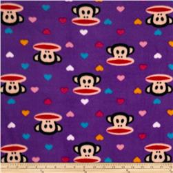Julius & Mini Hearts Fleece Purple