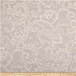 Waverly Past Tense Linen Blend Jacquard Platinum