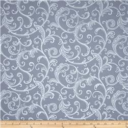 Stardust Scroll Smoky Gray